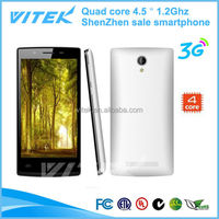 4.5 inch Android 4.4 quad core 1.2Ghz all china mobile phone models