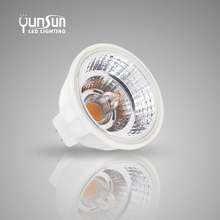 6w GU10 PAR16 retrofit Kulad Ra 90 COB led Dimmable Spotlight2700K reflector cup good heat disspating function