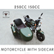 Motorcycle with sidecar 150CC 250CC tricycle