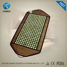 okmed enhanced healing negative ions heating therapy magnetic jade stone mat beijing okmed