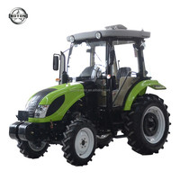 50hp 4wd cabin farming tractor DEUTZ FIAT and Cool and warm conditioner