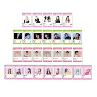 Kpop Stars Transparent Card Small Gifts Photo Plastic Cards