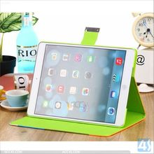 For Apple iPad Air Case With Auto Wake / Sleep Function Book Folio Leather Stand Cover Style P-IPD5CASE020