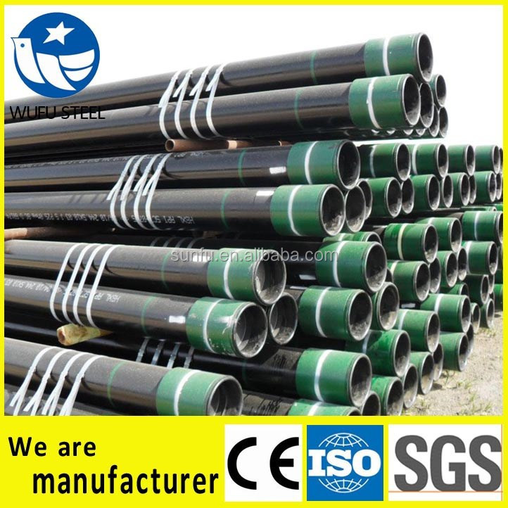 High quality 7 inch oil well casing pipes for sales