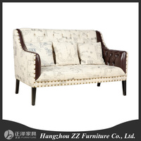 European beign fabric sofa chesterfield /antique style sofa/french style classic sofa