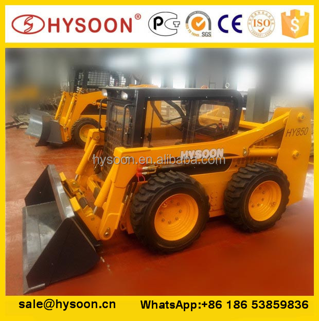 agricultural tools and uses skid steer attachment with earth bucket