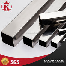 Factory price 304 tube welded ERW kaixuan stainless steel pipes