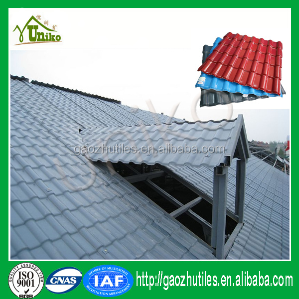 Synthetic roof tiles in Florida distributor Indonesia building materials Guangzhou