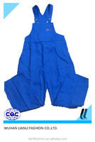 classical wholesale bib overalls working pant with elastic waist