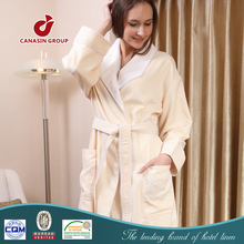 high quality microfiber couples bathrobe
