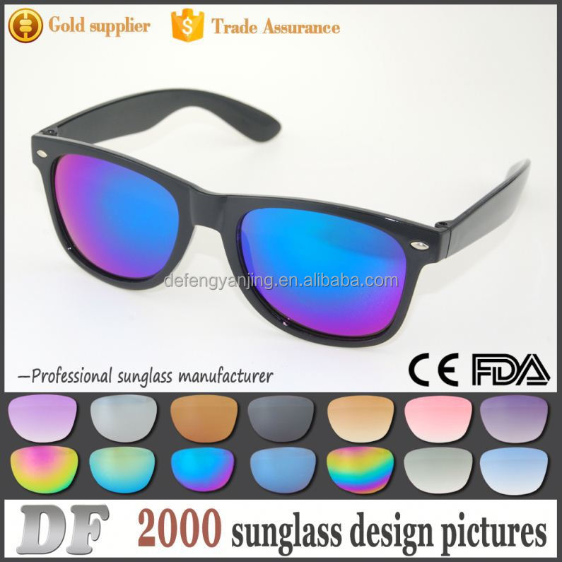 Factory best price custom logo printed lenses sunglasses