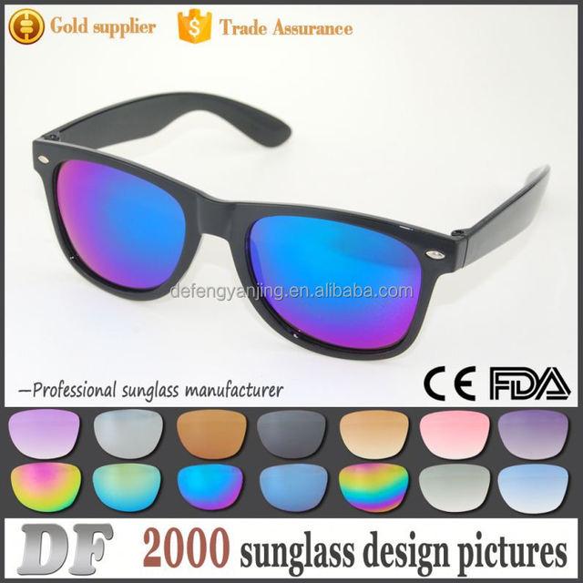 Factory best price custom logo printed lenses sunglasses