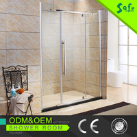 Aluminum frame glass shower door/bath screen /shower enclosure