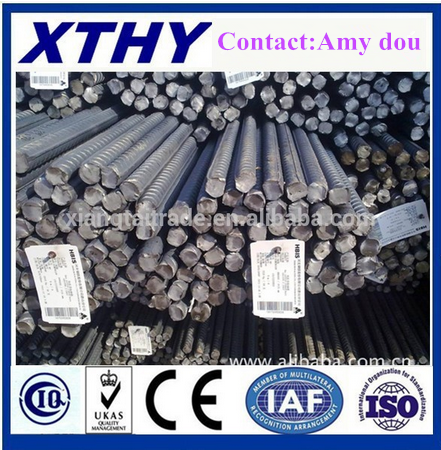 ASTM A615 G60 8mm 10mm 12mm Deformed Steel Bar/ steel rebar building construction METRIAL Steel Iron Rods for China