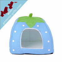 Strawberry shaped colorful pet home pet product