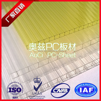 100% Imported Material Colorful Polycarbonate Sheet