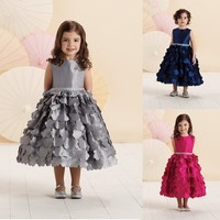 latest children graduation gown formal dress patterns for girls pictures