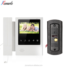 Office/apartments front door video intercom bell ring security door entry camera with 110 degree wide angle