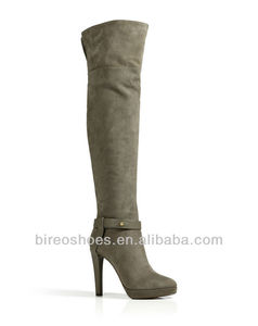 lady fashion overknee boots high heel winter boots(style no. WB1015)