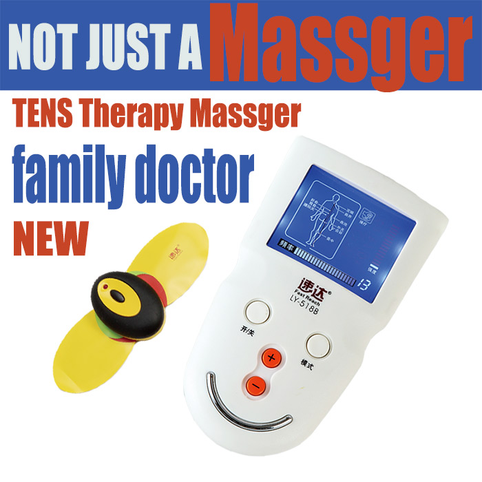 mini digital tens massager acupuncture point pen family health care equipment
