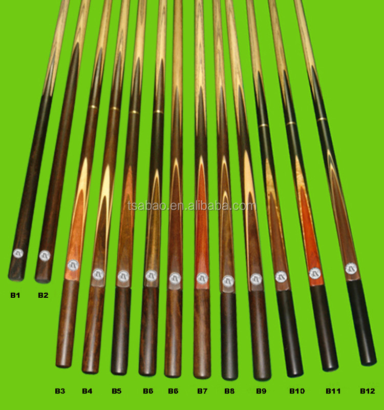 Professional ash wood pool cue,handmade snooker cue,billiard cue