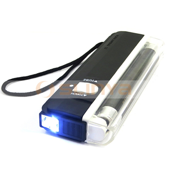 US Dollar EURO Currency Scan Handheld UV Light Portable Money Detector