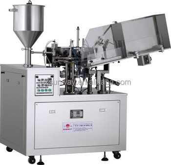 Automatic Aluminum Cosmetic Tube Sealing and Filling Machine