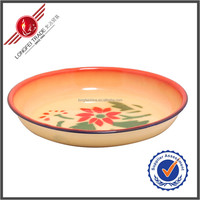 Wholesale Decal Enamel Plates Enamel Camping Plates