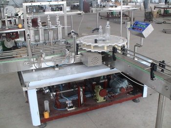 Olive Oil Filling and Capping Machine