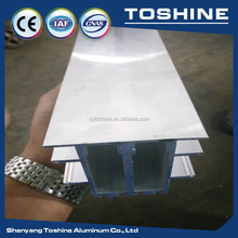 aluminium factory triangle profile aluminium , triangular aluminum tubing , colored aluminum tubing