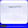 wholesale modern design low price glass computer desk table
