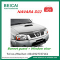 Bonnet Protector Window visor for Nissan Navara D22 2001-15 (All Vehicles) Tinted