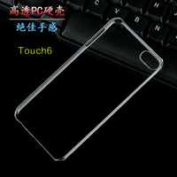 Korean Pc clear case for apple ipod touch 6 crystal moderate hard transparent cases