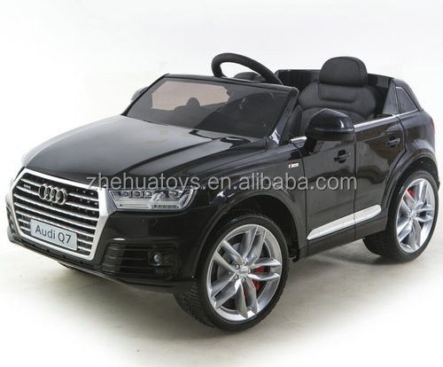 2016 new audi q7 licensed ride on car ride cars kids 12V children electric ride on car remote control