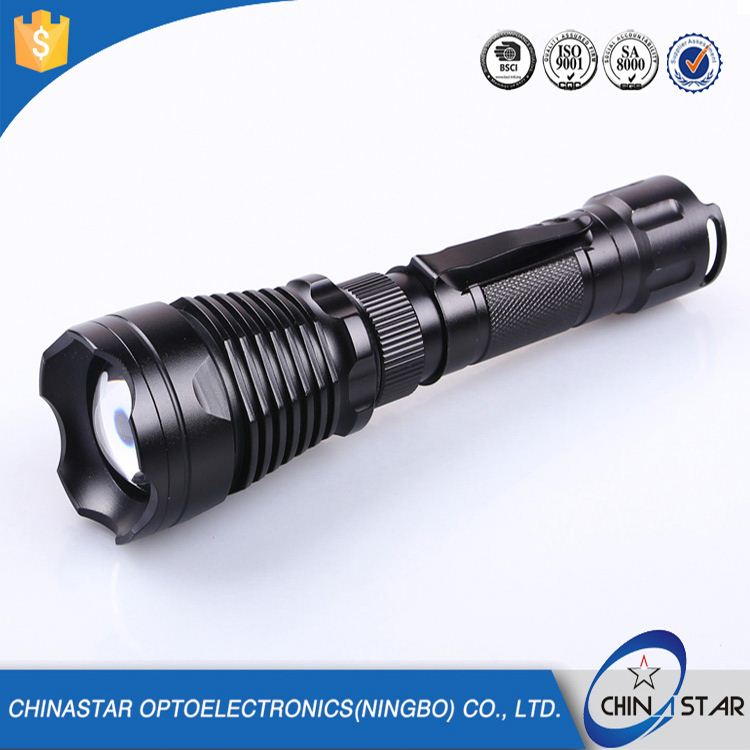 Professional Designed durable tactical flashlight 300 lumens