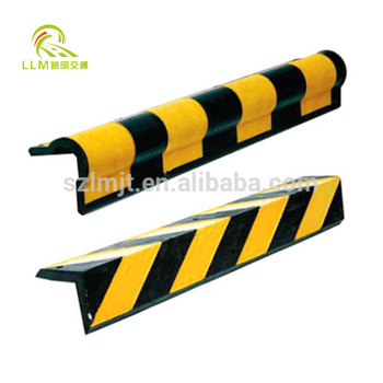 80cm protector reflective industrial rubber wall corner safety guard for garage