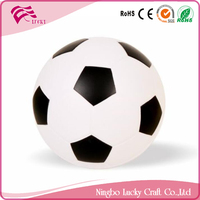 Lucky Craft PU foam 63mm soft Soccer balls reliever kids toys anti stress footballs