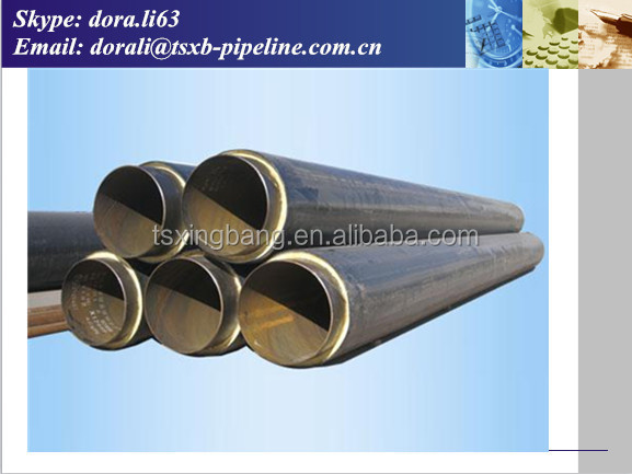 Aluminium Foil Pipe Insulation Thermal Heat Resistance Insulation Polyurethane Foam Material Wrapped Hot Water Pipe
