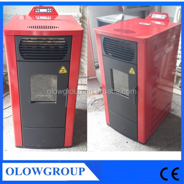 Big powder eco-friendly auto feed wood pellet hot water heater air heater