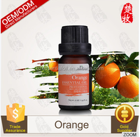 OEM Supply Organic Orange Essential Oil Good Skin Care Oil 10ml/bottle