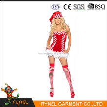 PGWC0575 Sex Christmas Costumes Cosplay Santa Fancy Dress Costumes Adult