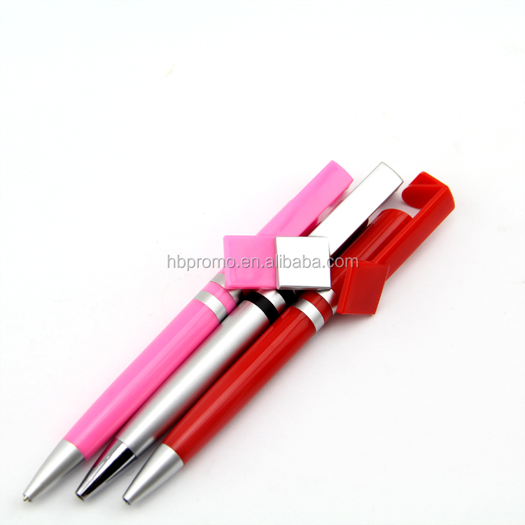 Twist Slim Shaped Logo Plastic Ball Pen