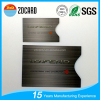 ZDCARD 10 Credit Card & 2 Passport Holders Case Set