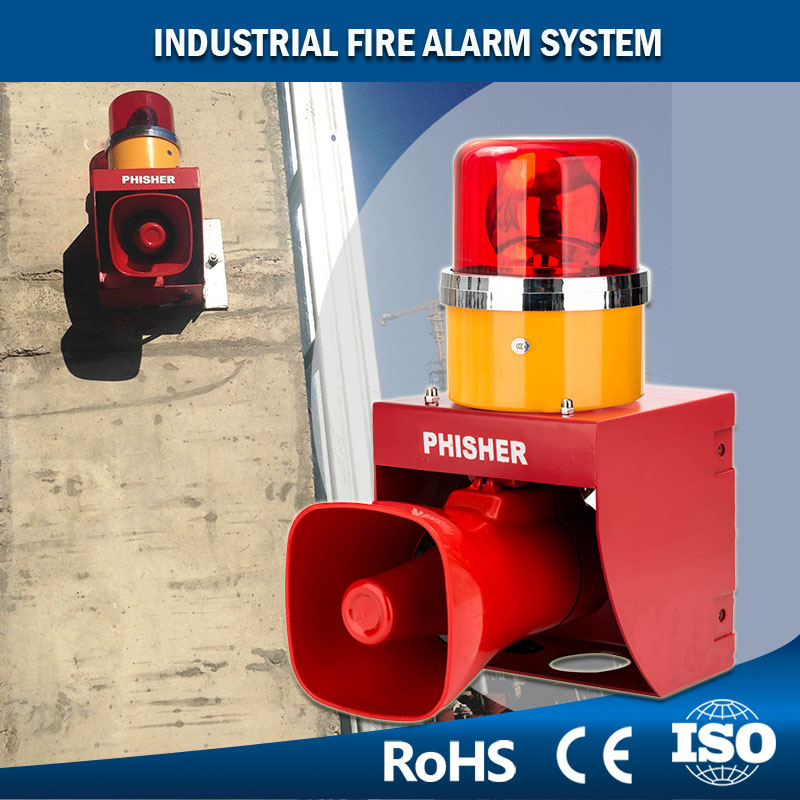 4 Selected Tones Industrial Fire Alarm System