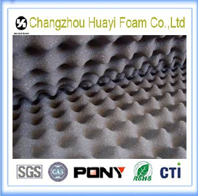 PU egg shape noise reduction foam sponge