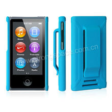 2013 Newest blue rubber coating plastic case for apple ipod nano