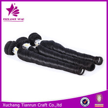 Wholesale top grade 5A xuchang hair factory cheap price European 100% unprocessed virgin aunty funmi hair