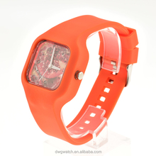 Wholesale rectangle shape unisex 2017 watch