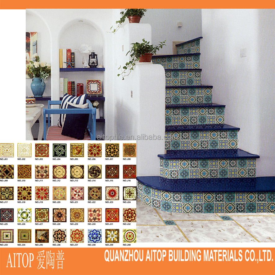 interior tile for stair and floor decoration