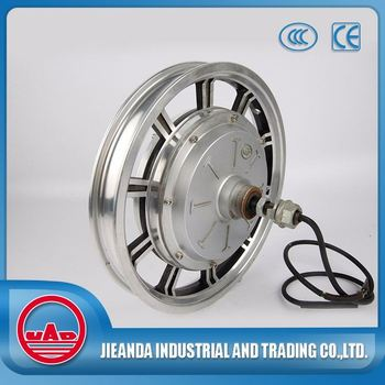 14 inch 500w brushless electric hub motor for bicycle